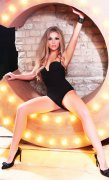 Charming Blonde Dubai Escorts Girl Polla Your Truly Tantalizing Date - 4