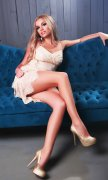 Charming Blonde Dubai Escorts Girl Polla Your Truly Tantalizing Date - 5