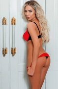 Tall Blonde Russian Escort Rina Full Service Domination Tecom Dubai - 1